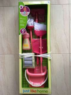 just like home Deluxe Housekeeping Set
