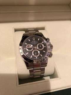 (已售)行貨 Rolex 116520
