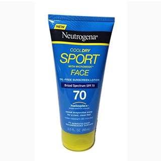 Neutrogena Sport Suncream 88ml (market price $24.9)