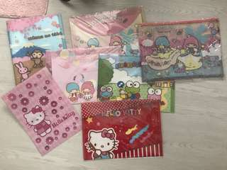 [CLEARANCE] Authentic Sanrio & Disney Folders