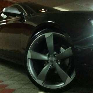 Audi 21 inch Rotor Rim