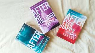 AFTER Series book by Anna Todd