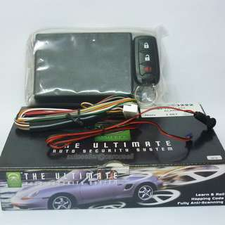 Wheels Car alarm system *Durable, User-friendly designed*