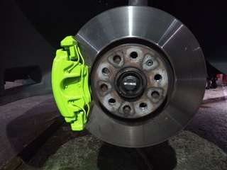 Car Brake Caliper spray