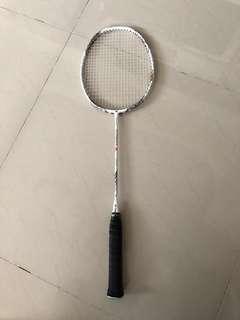 Authentic Yonex Z Force 2 white racket