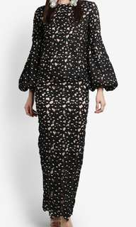 XXL Lubna puff sleeve dress