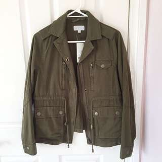 Brand new khaki utility jacket (BNWT)