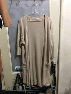 [GU] 長板短袖罩衫