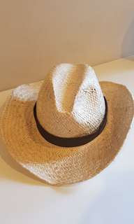 Straw Hat, Panama Hat, Handmade, from St. Regis in Bali
