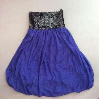 Highwaist mini dress