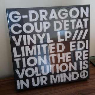 [NEW!!] G-Dragon COUP D'ETAT 限量黑膠碟 Boxset