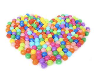 650pcs Colorful Pit Balls