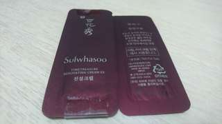 Sulwhasoo TimeTreasure Renovating Cream Ex 雪花秀珍雪活顏面霜 (5 pcs)