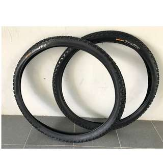💯🆕 Continental Traffic MTB Tyre (one pair)