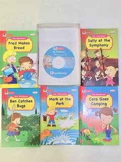 ROBIN: i-Pen My Weekend English Story Books  1 Set