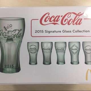 2015經典珍藏可樂杯(一套6隻連原裝鐵盒)