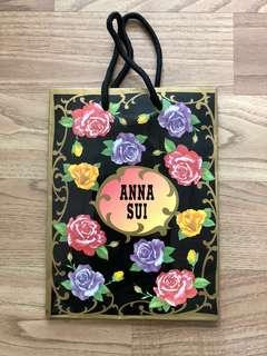 Anna Sui paper bag • 紙袋