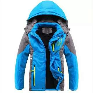 Boy Winter Jacket With Inner Fleece