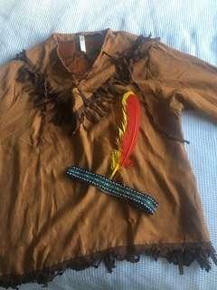 Cowboy vrs Indians dress up