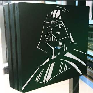 Darth Vader die-cut decals for your ps4 pro consoles