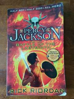 Percy Jackson - And the Battle of the Labyrinth