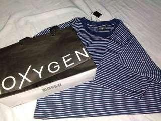 Blue Stripes Oxygen Shirt