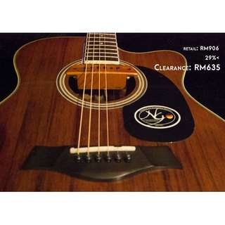NG Discovery AS41SC Folk/OM cutaway Acoustic Guitar [Clearstock May 2018]
