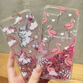 GLITTER CASE 2 UNICORN