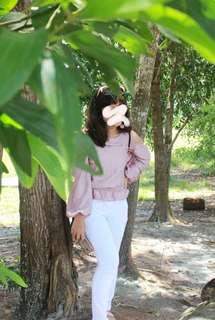 Baju rosegold