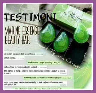 Marine essence bar soap