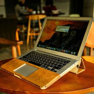 Leather Stand Cover Case For MacBook