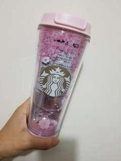 韓國 Starbucks 櫻花杯 2018 水晶球 隨行杯 355ml 星巴克 現貨 特價