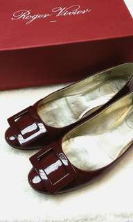 Roger Vivier Ballerinas Patent Leather Flats