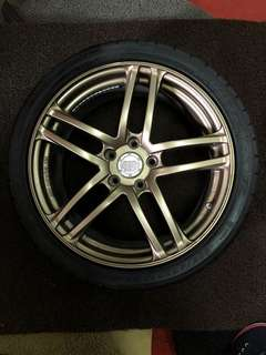 "18"" Advan Made In Japan"