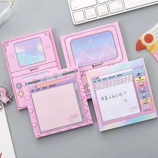 [po] cute pastel aesthetic post it notes!!