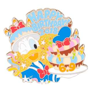 Tokyo Disneysea Disneyland Disney Resorts Sea Land Donald Duck Happy Birthday 2018 Pin Preorder