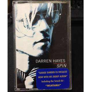 To Bless Free: Darren Hayes - Spin Cassette #Blessing