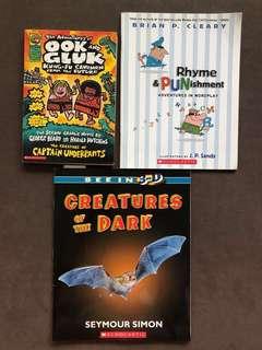 Scholastic books.