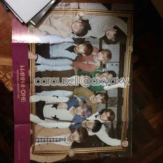 (WTS/WTT) Wanna One Nothing Without You Official Poster #20under