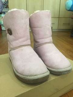 Pink Winter Time Boots