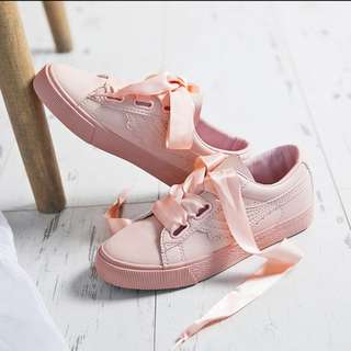 Pink Casual Covered Shoes