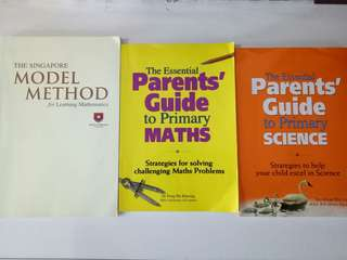 Parents' Guide for primary schooling (3 books)