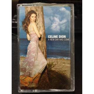 Celine Dion - A New Day Has Come cassette