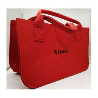 Red Colour Recycle Bag/Tote Bag