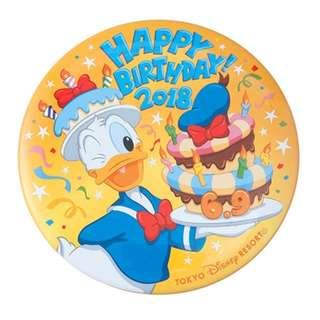 Tokyo Disneysea Disneyland Disney Resorts Sea Land Donald Duck Happy Birthday 2018 Pin Badge Preorder