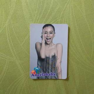 Yescard Angelababy 楊穎
