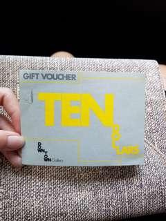 $100 Downtown Gallery Gift Voucher