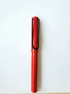 Red Lamy Pen