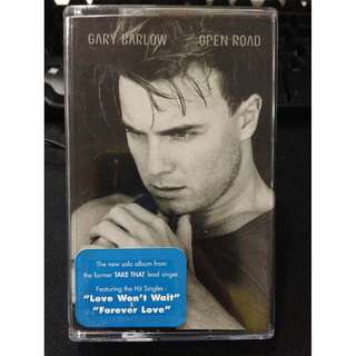 To Bless Free: Gary Barlow - Open Road cassette #Blessing