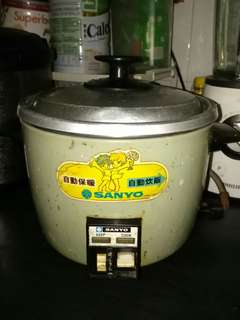 40 Year Old Workable Sanyo 1L Rice Cooker